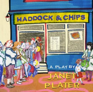 cartoon image of fish and chips shop
